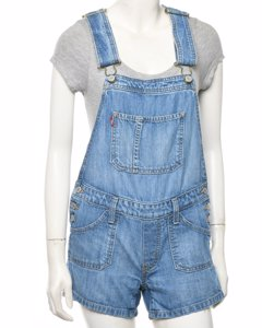 Levi's Cropped Dungarees
