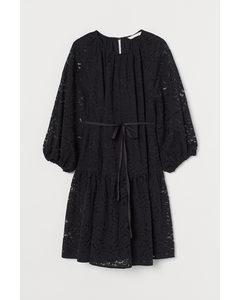 Mama Spetsklänning Svart