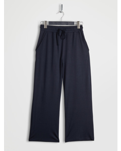 Cropped Lounge Pants Navy