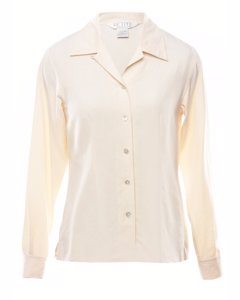 Petites Silk Shirt