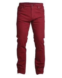Regular Twill Jeans Red