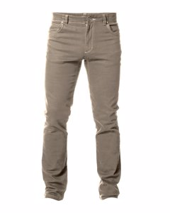 Regular Twill Jeans Dark Biege