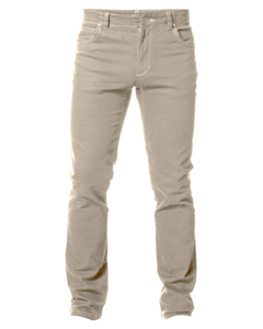 Regular Twill Jeans Biege