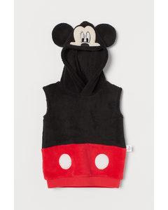 Teddy Verkleedpak Zwart/mickey Mouse