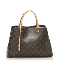 Louis Vuitton Monogram Montaigne Bb Brown