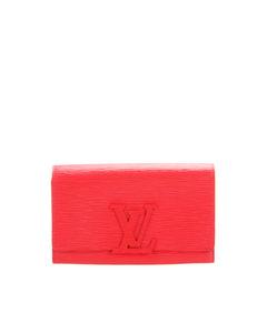 Louis Vuitton Epi Louise Long Wallet Red