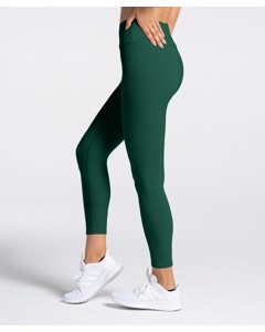 Carpatree Woman Spark Highwaist Leggings Bottle Green