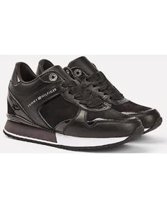 Dressy Wedge Mat Mix Sneaker