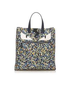 Fendi Monster Nylon Tote Bag Multi