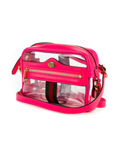 Ophidia Transparent Crossbody