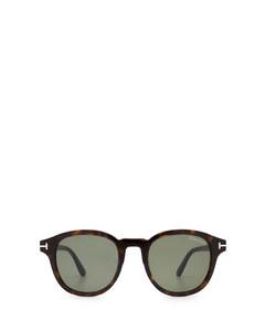 Ft0752 Dark Havana Solglasögon