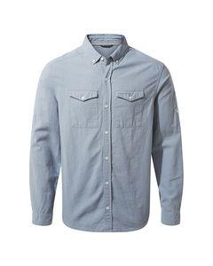 Craghoppers Mens Kiwi Linen Long Sleeved Shirt