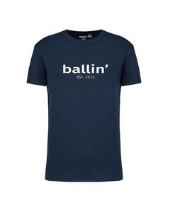 Ballin Est. 2013 Regular Fit Shirt Blauw
