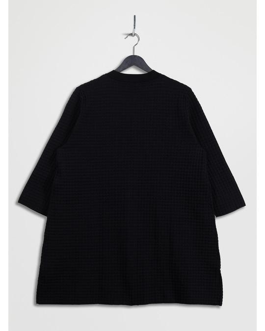 COS Light Textured Cardigan Black