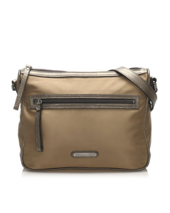 Burberry Nylon Crossbody Bag Brown