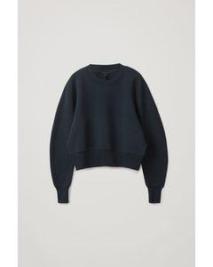 Boxy Sweatshirt Navy