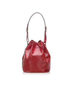 Louis Vuitton Epi Noe Red