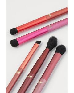 Makeup-borstar Rosa