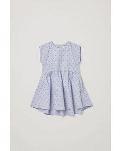 Sleeveless Dress Blue / Red