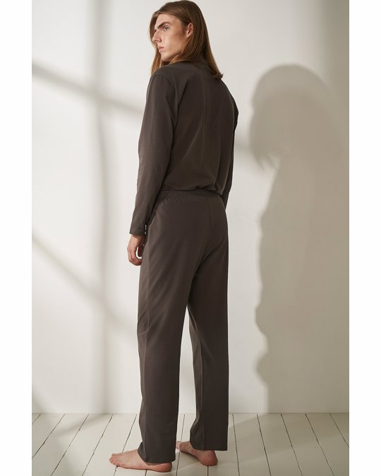 nu-in Jersey Pyjama Pants Darkgrey