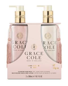 Grace Cole Vanilla Blush & Peony Hand Care Duo Set