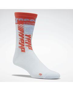 Crossfit® Printed Crew Socks