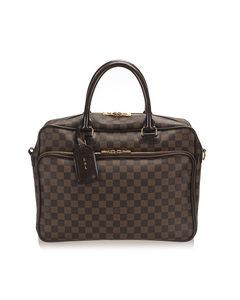 Louis Vuitton Damier Ebene Icare Laptop Bag Brown