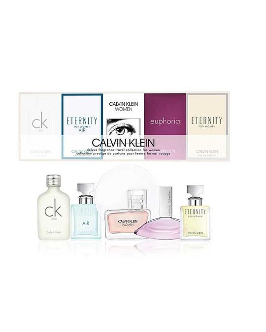 Calvin Klein Giftset Calvin Klein Deluxe Travel Collection For Women 5x Edp