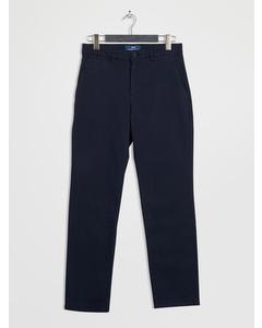 Gaston Chino Pants Slim Navy Blazer