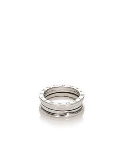 Bvlgari 18 K B-zero1 Ring Silver