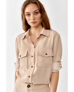 Louise Shirt  Blush