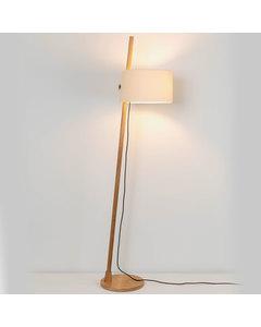 Linood Oakwood Grote Vloerlamp - Wit