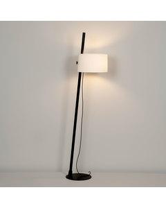 Linood Oakwood Grote Vloerlamp - Mat Zwart