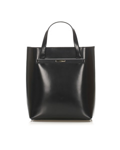 Gucci Leather Tote Bag Black