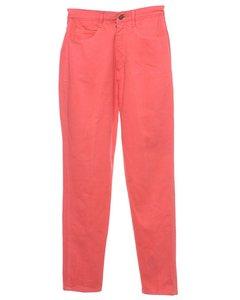1990s Bill Blass High Waist Tapered Jeans