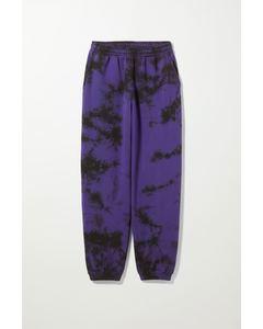 Batik-Sweatpants Standard Lila