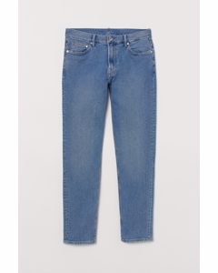 Slim Jeans Licht Denimblauw