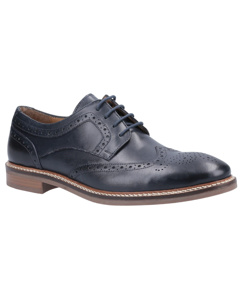 Hush Puppies Mens Bryson Leather Brogues