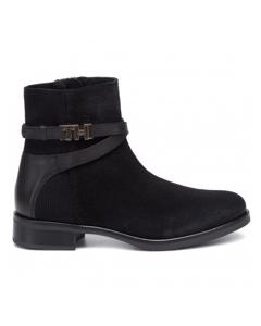 TH Hardware Booties Schwarz