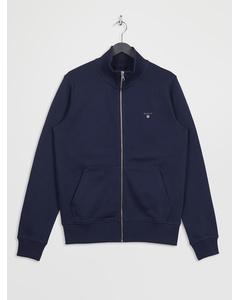 The Original Full Zip Cardigan Evening Blue