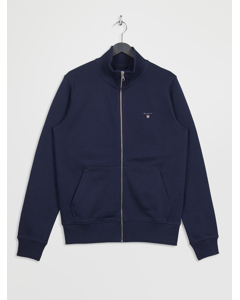 The Original Full Zip Cardigan Evening Blue