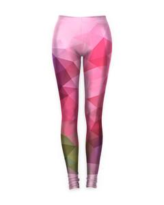 Mr. Gugu & Miss Go Violet Geometric Leggings Geo Pink