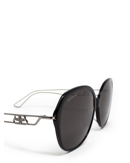 Balenciaga Bb0058sk Black Sunglasses