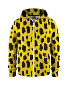 Mr. Gugu & Miss Go Roarrrr Kids Zip Hoodie Wild Yellow