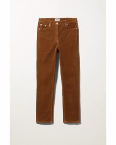 Eve Cord Trousers Brown