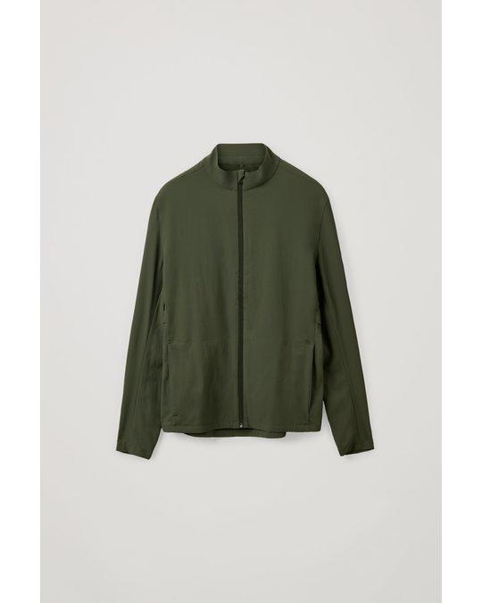 COS Running Jacket Dark Green