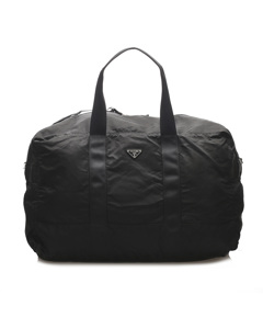 Prada Tessuto Travel Bag Black