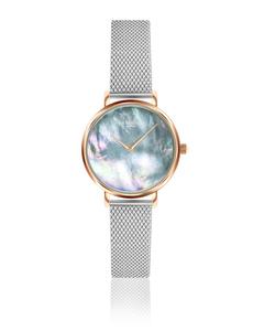 Iris Ultra Thin Silver Watch