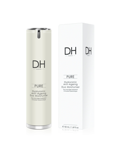 Dr h hyaluronic Acid Anti-ageing Duo Moisturiser  Clear