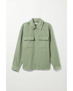 Chris Overshirt Khaki Green